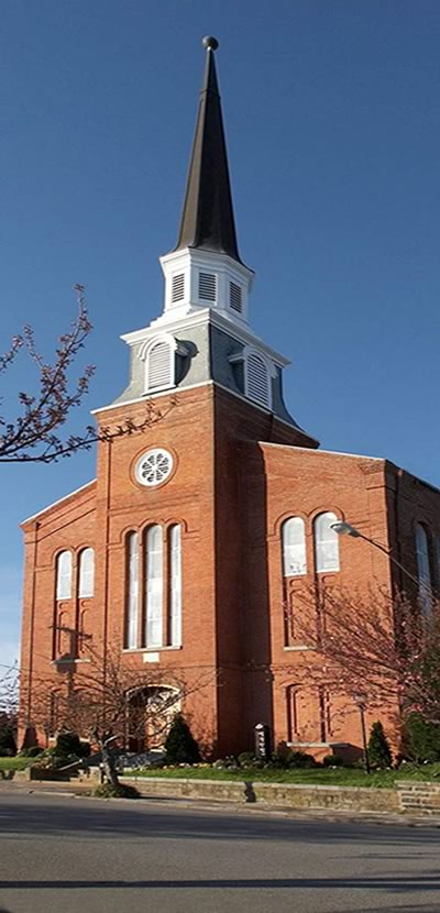 Court Street Baptist Church front